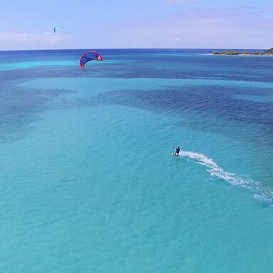 croisieres kite surf catamaran départ Martinique