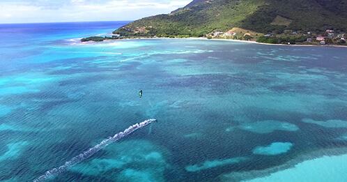 Croisière Kite Surf en catamaran dans les îles Grenadines au départ de la Martinique