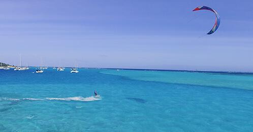 Croisière Kite Surf en catamaran dans les îles Grenadines au départ de Martinique