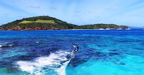 Croisière Kite Surf catamaran Grenadines au départ de la Martinique