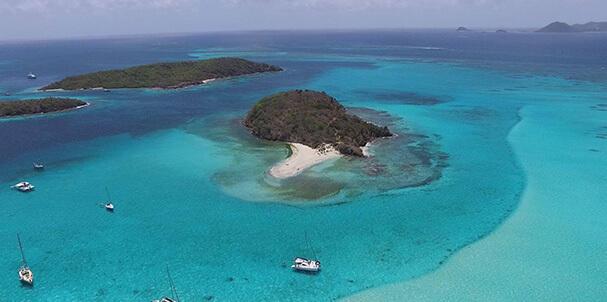 croisières catamaran iles grenadines départ martinique