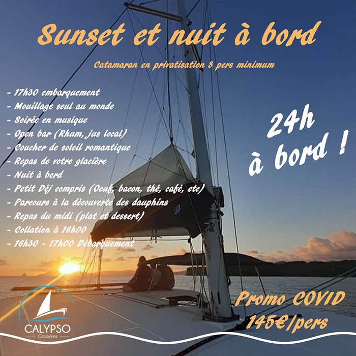 pack 24H privatisation catamaran